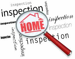 magnifying glass over the words home inspection