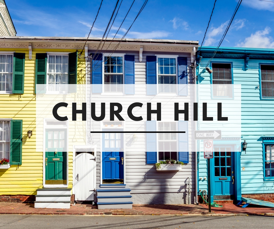 Church Hill Homes For Sale