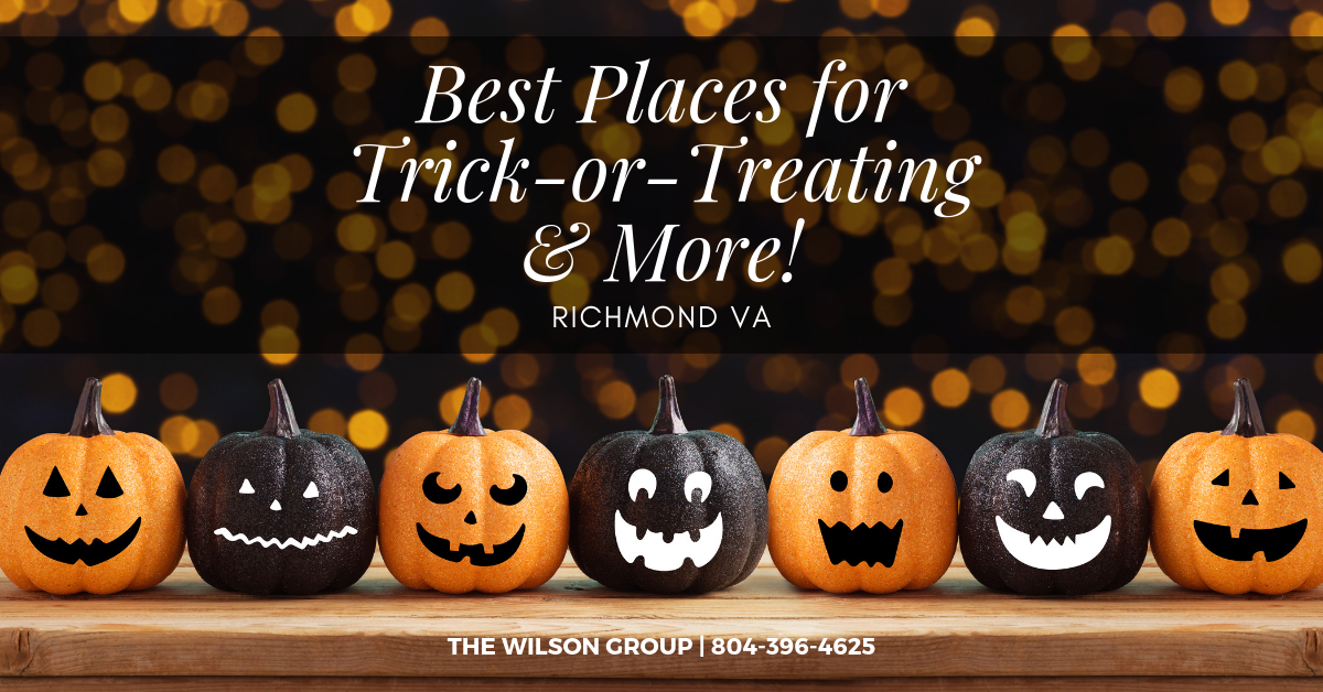 Best Places for Trick-Or-Treating in Richmond VA [2019]