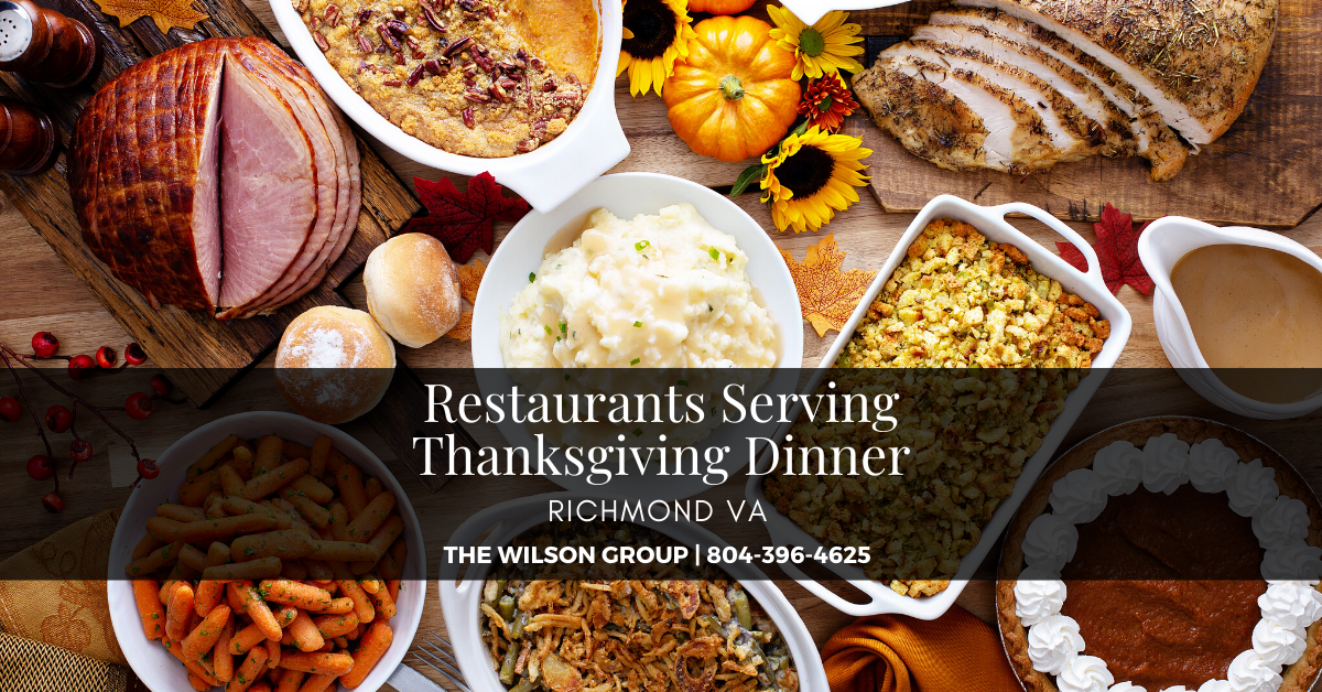 Restaurants Serving Thanksgiving Dinner in Richmond VA