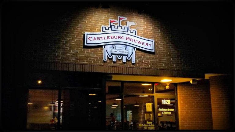castleburg brewery and taproom thank you the Wilson group