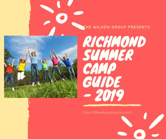 Richmond Summer Camps 2019