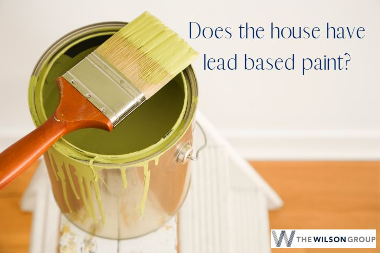 does home have lead based paint