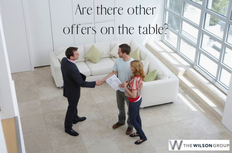 questions for home buyers - how many offers made