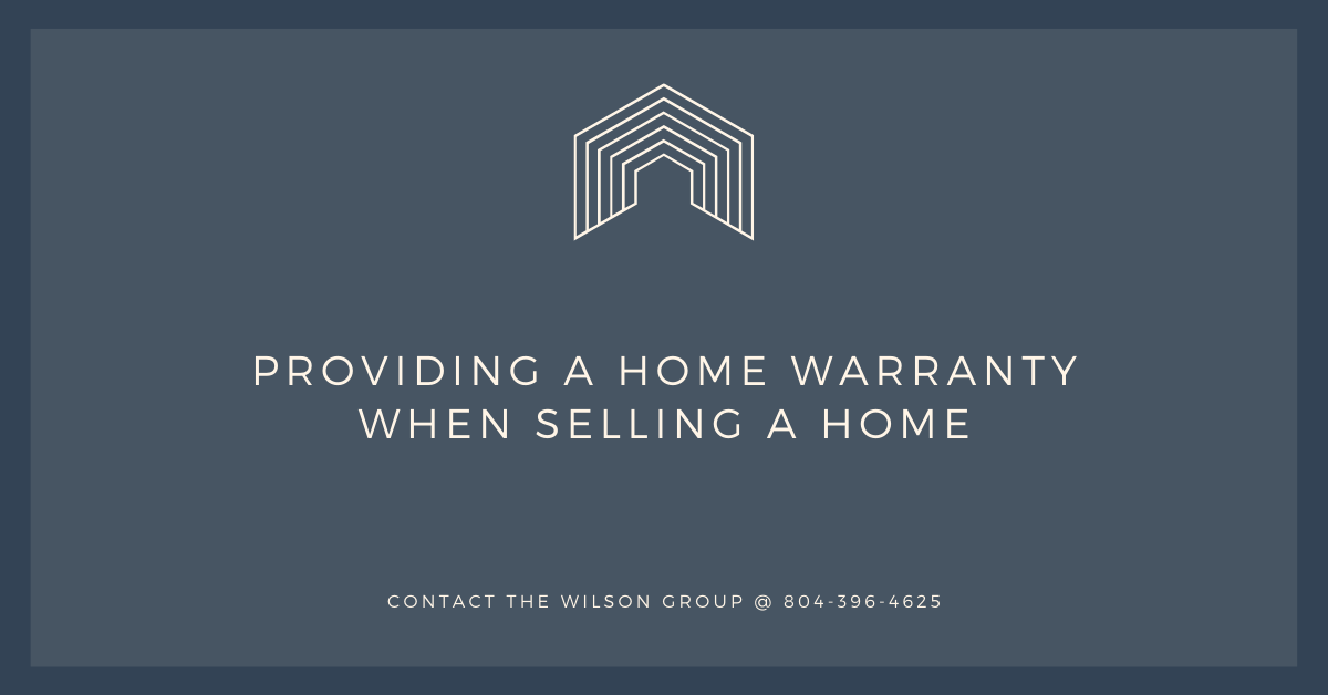 Providing a Home Warranty When Selling a Home