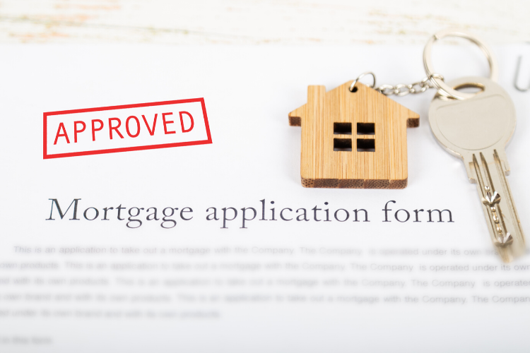 Mortgage Application Form with Keychain