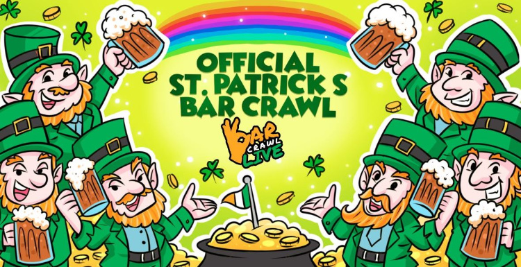Richmond St. Patricks Day Events - Bar Crawl