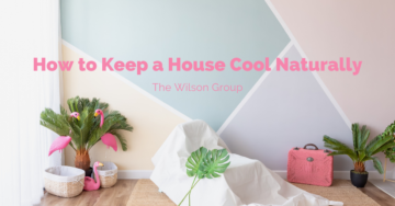 How to keep a House Cool Naturally Wilson Group