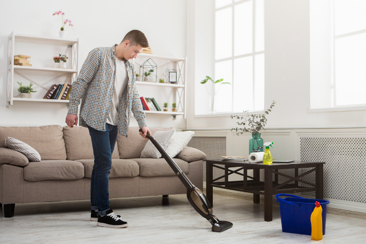 things to do at home - cleaning