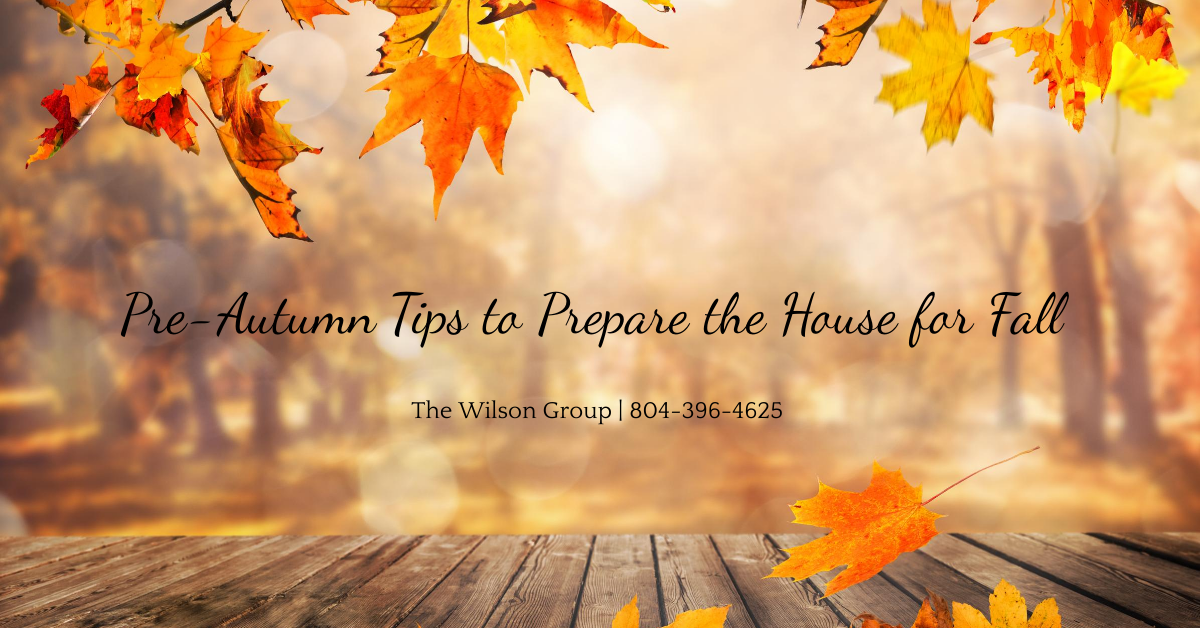 Pre-Autumn Tips to Prepare the House for Fall